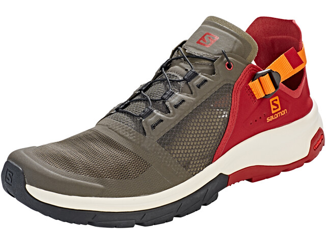 Salomon M's Techamphibian 4 Shoes Beluga/Russet Orange/Red Dahlia